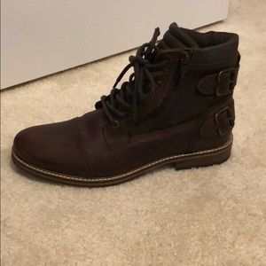 Brand new size 9 men's leather boots